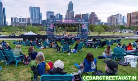 Tempat Live Musik Di Austin Dengan Venue Outdoor